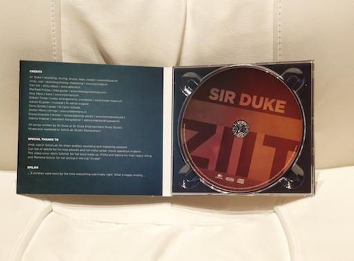 CD eingetroffen
